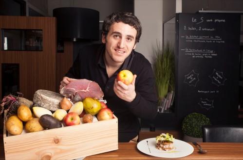 Donatien, chef au S Restaurant