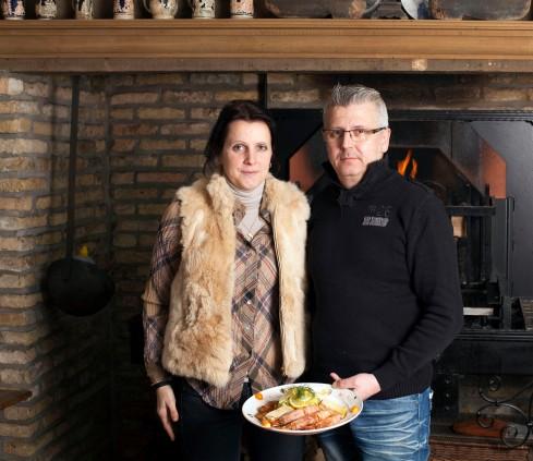 Emmanuelle et Denis Piquette Restaurant au joyeux retour du pêcheur