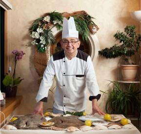 Alain Cocqueel chef du restaurant le Turbot